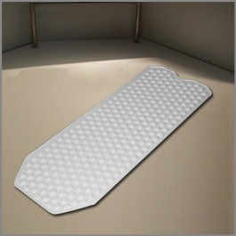 No suction cup bath mat