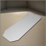 No suction cup bath mat